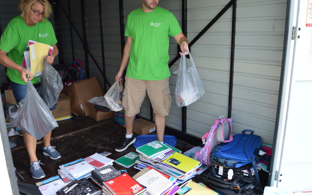 CIS preparing students for success: August Back to School Supply Drive