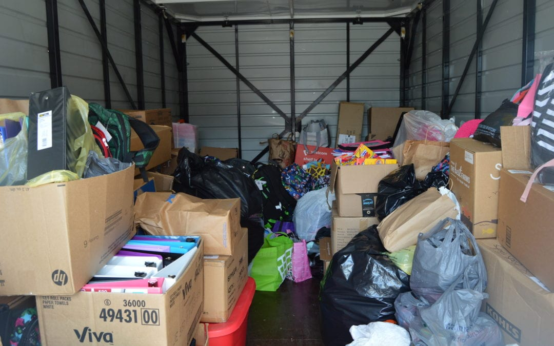 CIS Back to School Supply Drive Thank you