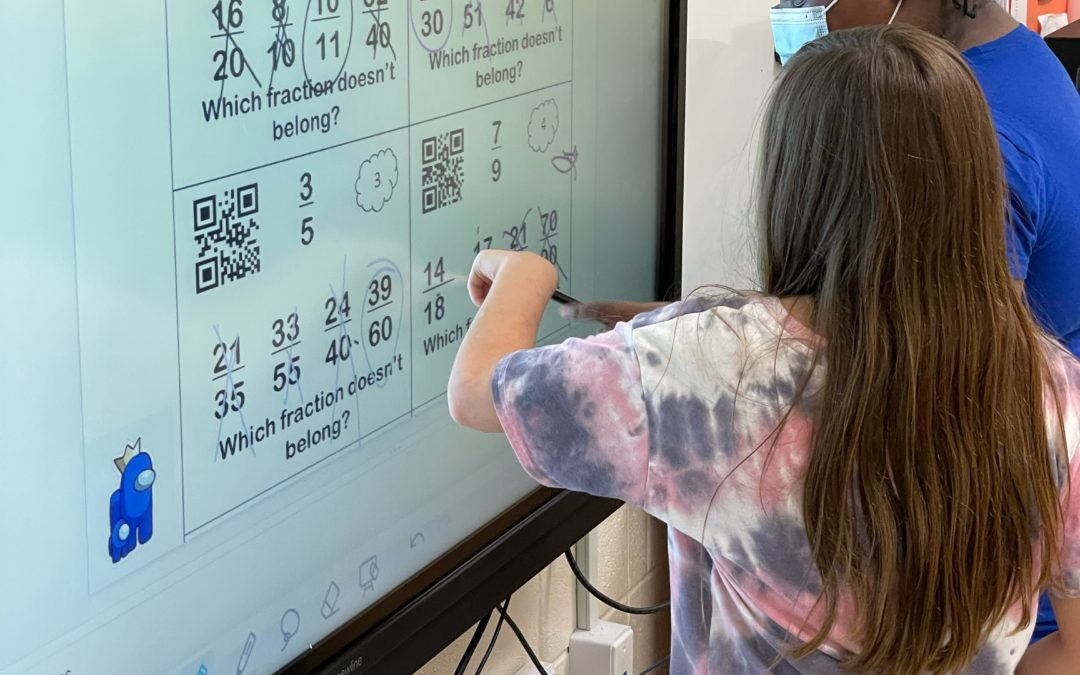 Smart Boards Help Build Smart Students at Supply Elementary
